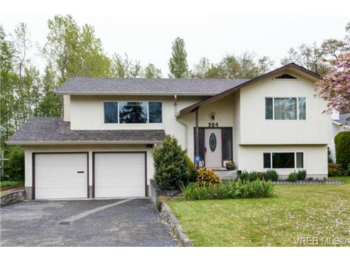 Main Photo: 984 Lucas Avenue in VICTORIA: SE Lake Hill Single Family Detached for sale (Saanich East)  : MLS® # 350165