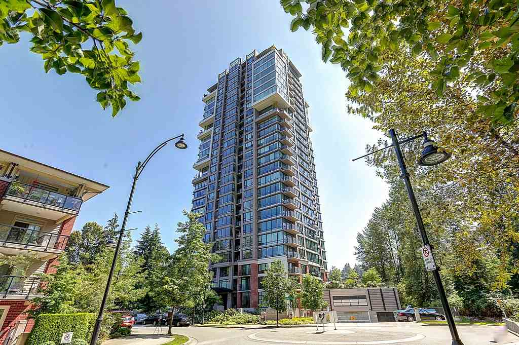 "Main Photo: 604 301 CAPILANO Road in Port Moody: Port Moody Centre Condo for sale in ""RESIDENCES AT SUTER BROOK"" : MLS® # R2094618"