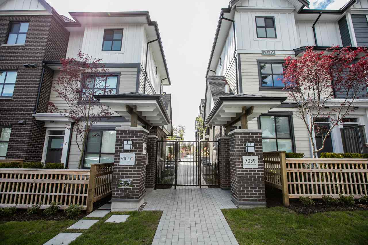 Main Photo: 43 7039 MACPHERSON Avenue in Burnaby: Metrotown Townhouse for sale (Burnaby South)  : MLS(r) # R2160178