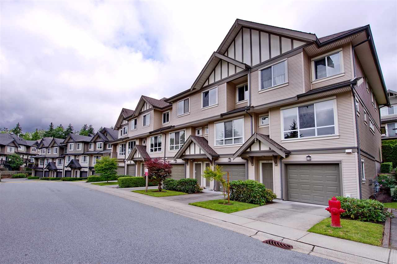 "Photo 1: 110 9088 HALSTON Court in Burnaby: Government Road Townhouse for sale in ""TERRAMOR"" (Burnaby North)  : MLS(r) # R2177082"