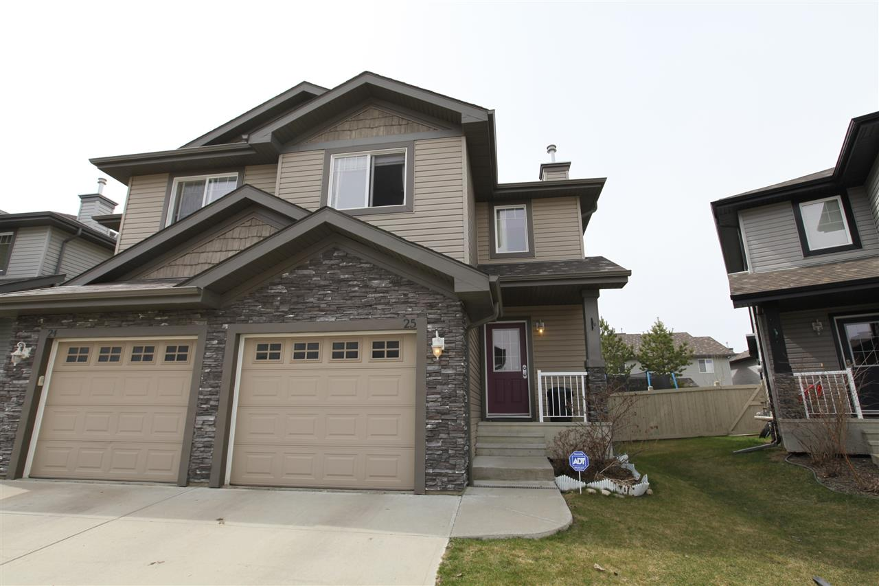 Main Photo: 25 1730 Leger Gate in Edmonton: Zone 14 House Half Duplex for sale : MLS® # E4077506