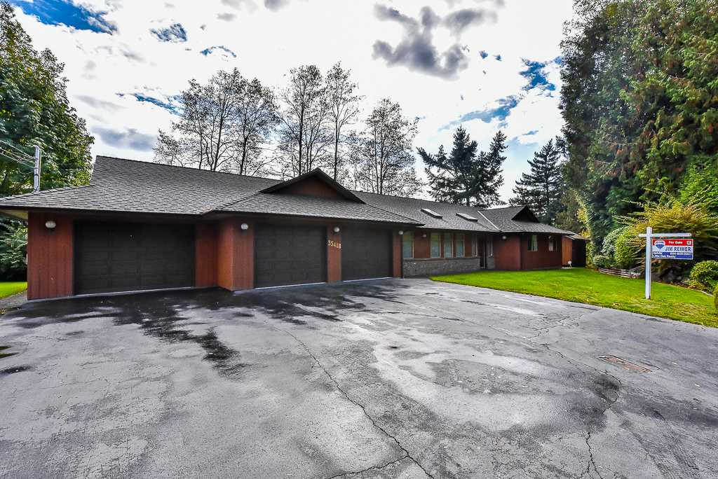Main Photo: 35418 GOOD Road in Abbotsford: Abbotsford East House for sale : MLS® # R2213494