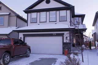 Main Photo: 576 MCDONOUGH Way in Edmonton: Zone 03 House for sale : MLS® # E4089906
