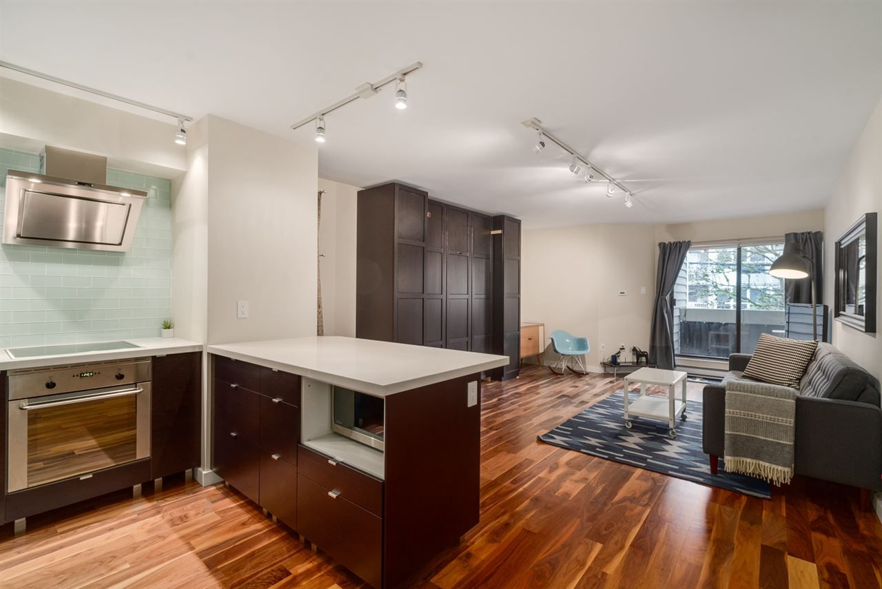 "Main Photo: 206 1545 E 2ND Avenue in Vancouver: Grandview VE Condo for sale in ""TALISHAN WOODS"" (Vancouver East)  : MLS®# R2231969"