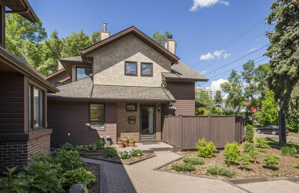 Main Photo: 7926 111 Street in Edmonton: Zone 15 Townhouse for sale : MLS®# E4116196