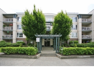 "Main Photo: 410 20200 54A Avenue in Langley: Langley City Condo for sale in ""MONTEREY GRANDE"" : MLS®# F1404718"