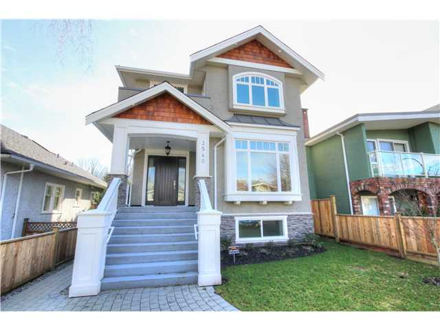 "Main Photo: 3540 W 21ST Avenue in Vancouver: Dunbar House for sale in ""DUNBAR"" (Vancouver West)  : MLS(r) # V1064793"