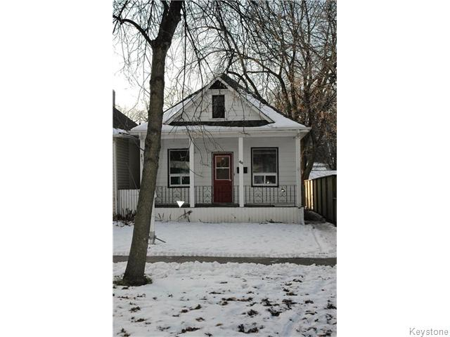 Main Photo: 44 Lansdowne Avenue in Winnipeg: West Kildonan / Garden City Residential for sale (North West Winnipeg)  : MLS® # 1605312