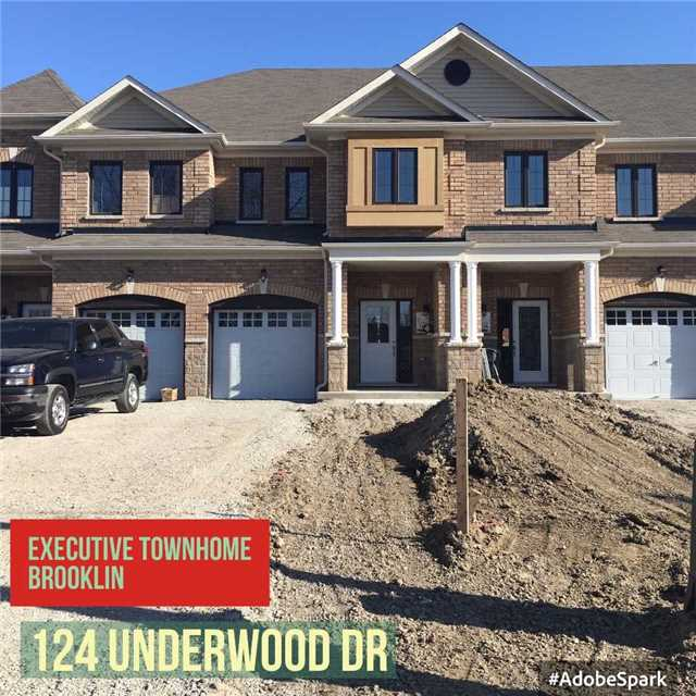 Main Photo: 124 Underwood Drive in Whitby: Brooklin House (2-Storey) for lease : MLS® # E3678897