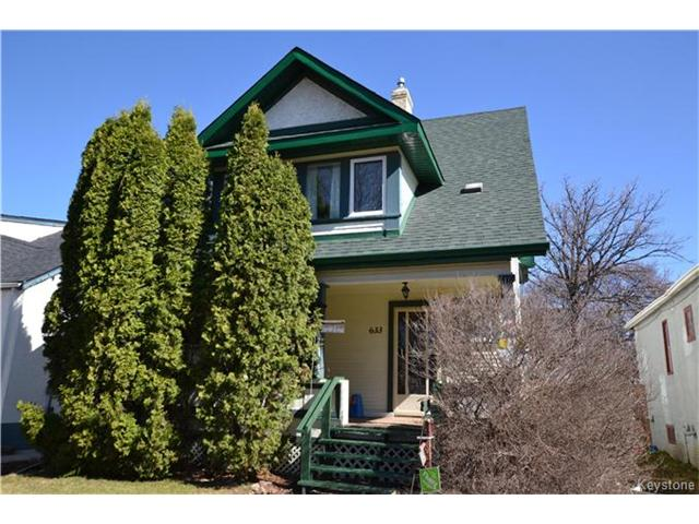 Main Photo: 633 Machray Avenue in Winnipeg: Sinclair Park Residential for sale (4C)  : MLS® # 1712458