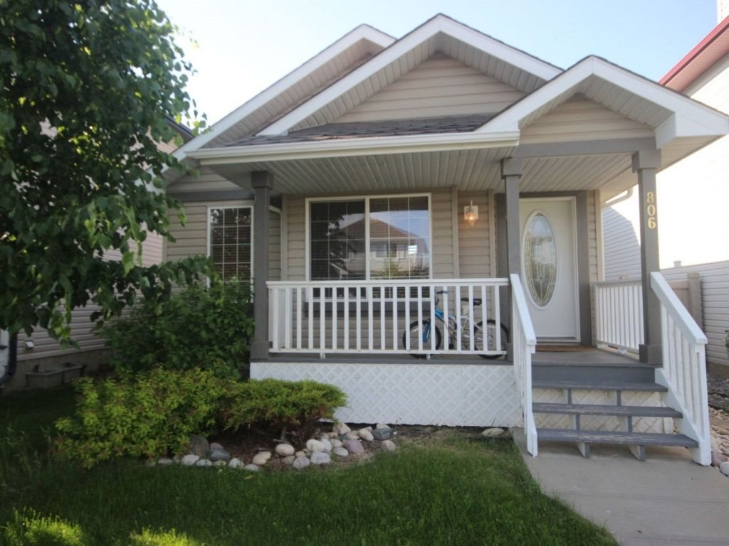 Main Photo: 806 McAllister Crescent in Edmonton: Zone 55 House for sale : MLS(r) # E4071627