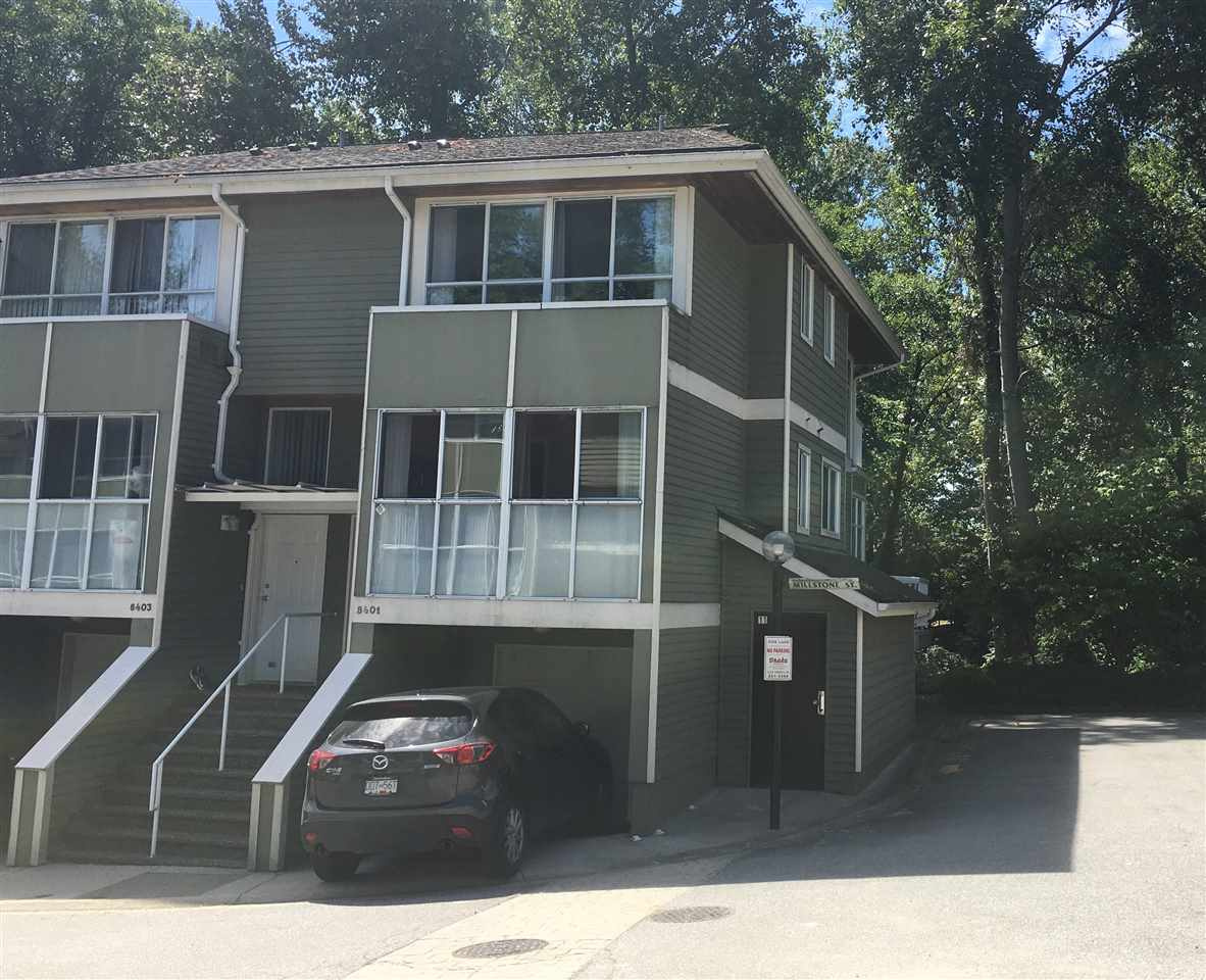 Main Photo: 8401 MILLSTONE STREET in Vancouver: Champlain Heights Townhouse for sale (Vancouver East)  : MLS® # R2185154