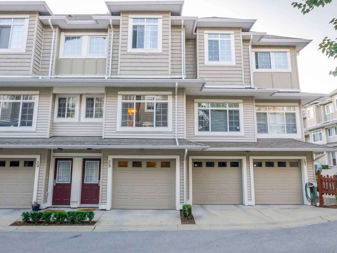 "Main Photo: 28 6852 193 Street in Surrey: Clayton Townhouse for sale in ""Indigo"" (Cloverdale)  : MLS® # R2207302"