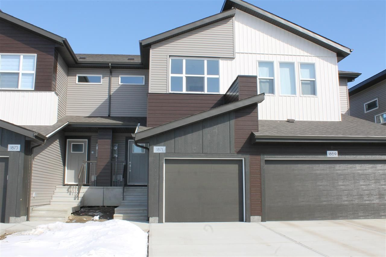 Main Photo: 1871 Keene Crescent in Edmonton: Zone 56 Attached Home for sale : MLS®# E4103943