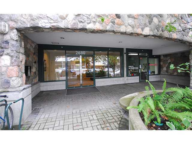 Main Photo: 311 2680 W 4 Avenue in Vancouver: Kitsilano Condo for sale (Vancouver West)  : MLS® # V845230