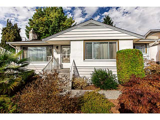 "Main Photo: 1063 SEVENTH Avenue in New Westminster: Moody Park House for sale in ""MOODY PARK"" : MLS® # V1090839"