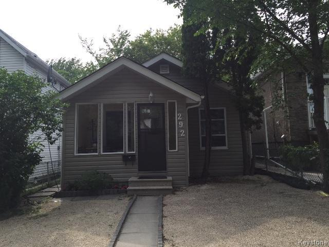 Main Photo: 292 Hampton Street in WINNIPEG: St James Residential for sale (West Winnipeg)  : MLS® # 1519459