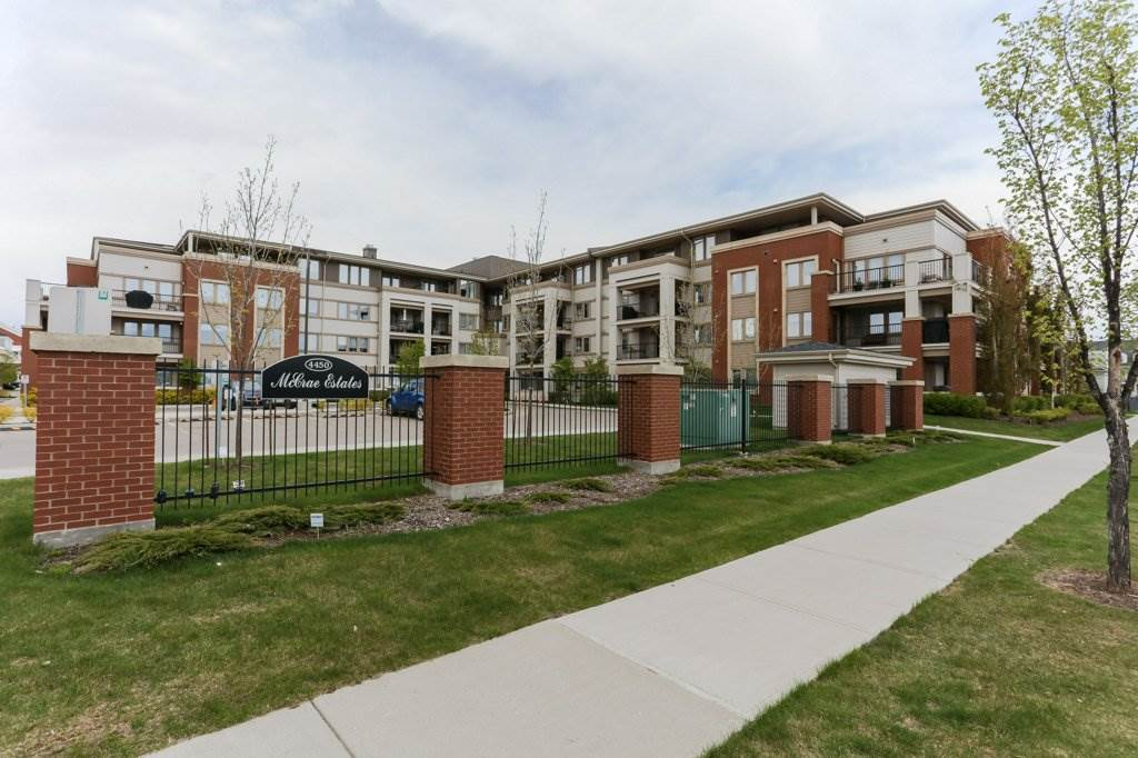 Main Photo: 313 4450 MCCRAE Avenue in Edmonton: Zone 27 Condo for sale : MLS® # E4065602