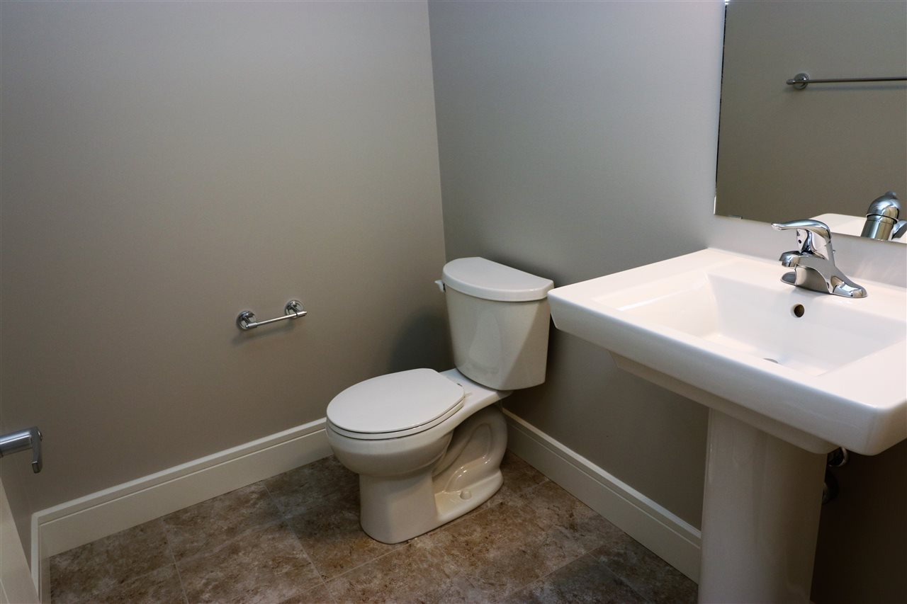 Half bath on main floor...