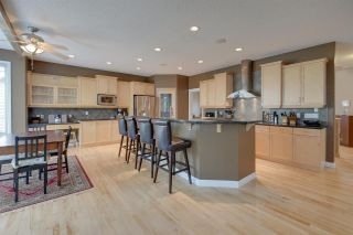 Huge kitchen with center island, granite counters and stainless steel appliances â a delight for any chef. Dinette is off this area PLUS there is a formal dining area.