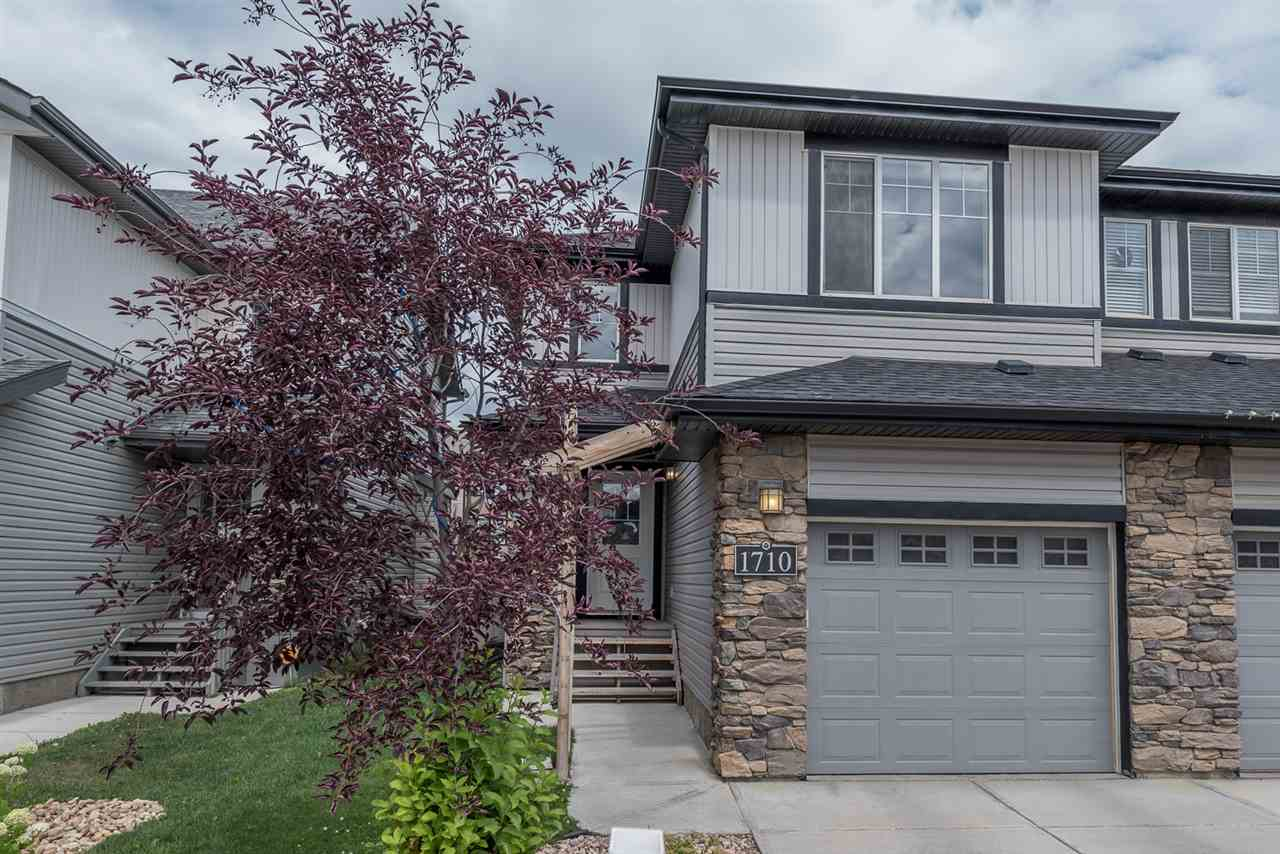Main Photo: 1710 Cunningham Way in Edmonton: Zone 55 House Half Duplex for sale : MLS® # E4074472
