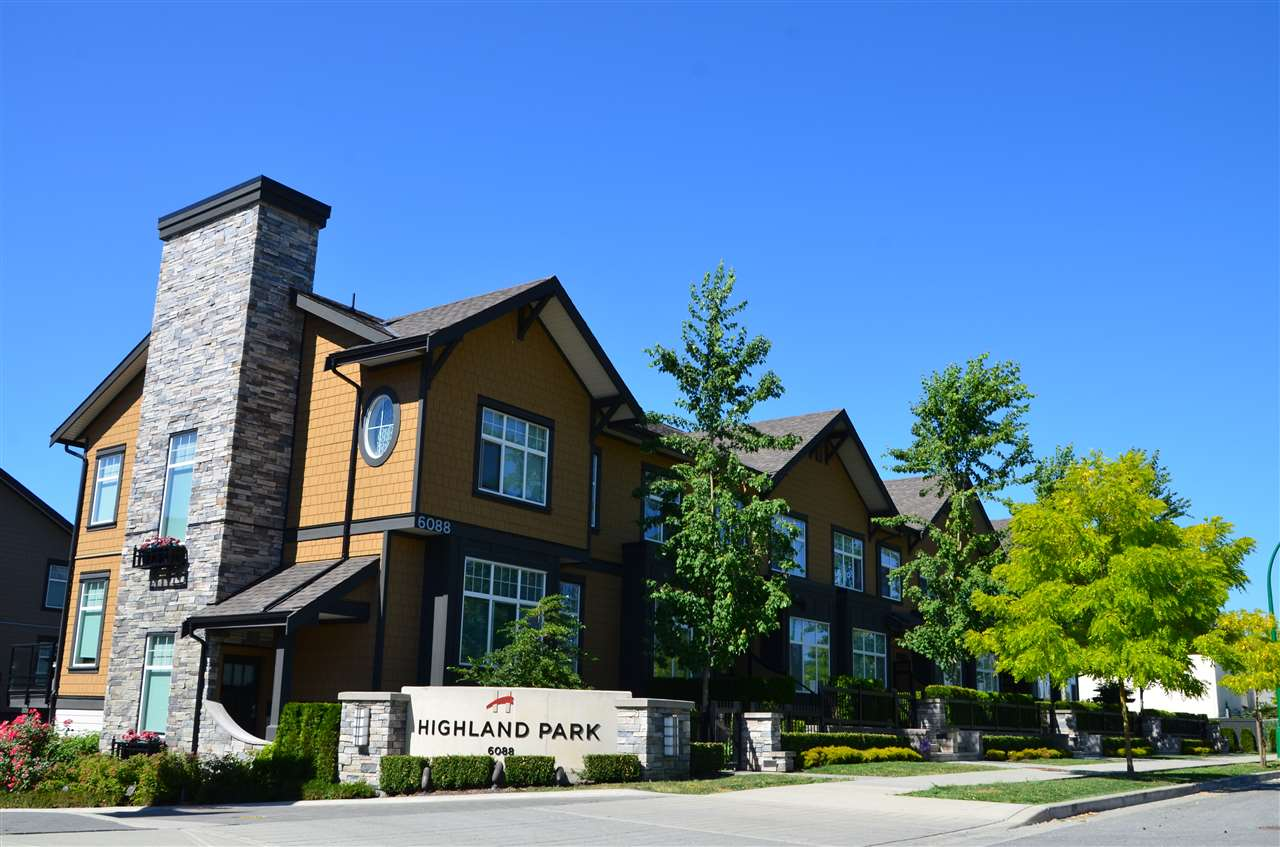 "Main Photo: 10 6088 BERESFORD Street in Burnaby: Metrotown Townhouse for sale in ""HIGHLAND PARK"" (Burnaby South)  : MLS®# R2262022"