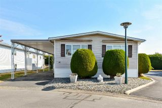 "Main Photo: 41 2303 CRANLEY Drive in Surrey: King George Corridor Manufactured Home for sale in ""Sunnyside Estates"" (South Surrey White Rock)  : MLS®# R2305215"