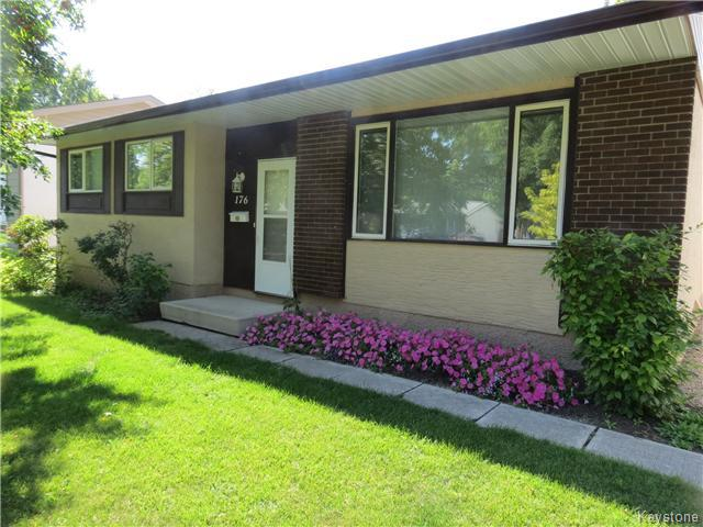 Main Photo: 176 Risbey Crescent in WINNIPEG: Westwood / Crestview Residential for sale (West Winnipeg)  : MLS® # 1323461