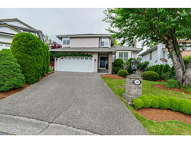 "Main Photo: 2353 NOTTINGHAM Place in Port Coquitlam: Citadel PQ House for sale in ""Citadel Heights"" : MLS® # V1071418"