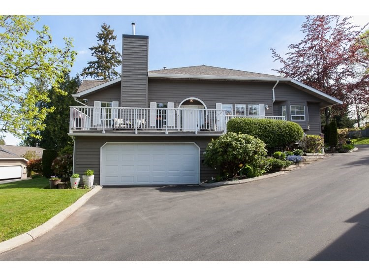 "Main Photo: 43 21848 50TH Avenue in Langley: Murrayville Townhouse for sale in ""Cedar Crest"" : MLS(r) # R2057565"