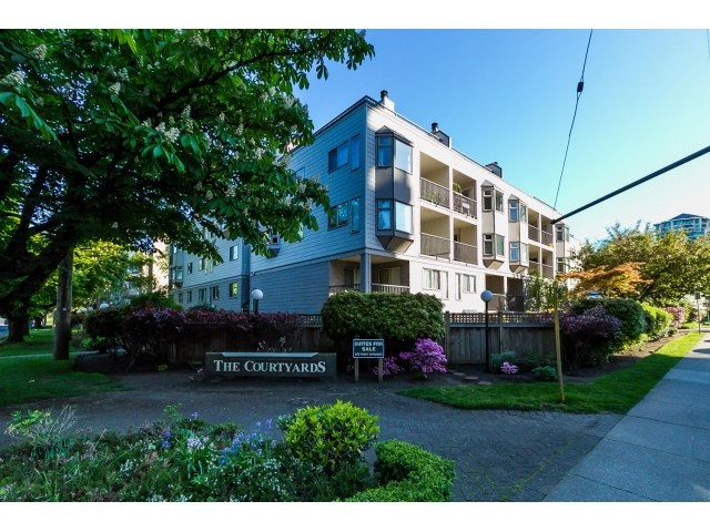 "Main Photo: 208 737 HAMILTON Street in New Westminster: Uptown NW Condo for sale in ""THE COURTYARD"" : MLS® # R2060050"