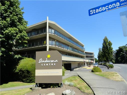 Main Photo: 206 1545 Pandora Avenue in VICTORIA: Vi Fernwood Condo Apartment for sale (Victoria)  : MLS® # 367587