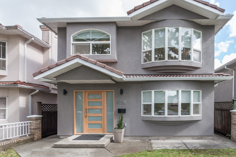 Main Photo: 4738 INVERNESS Street in Vancouver: Knight House for sale (Vancouver East)  : MLS® # R2110367