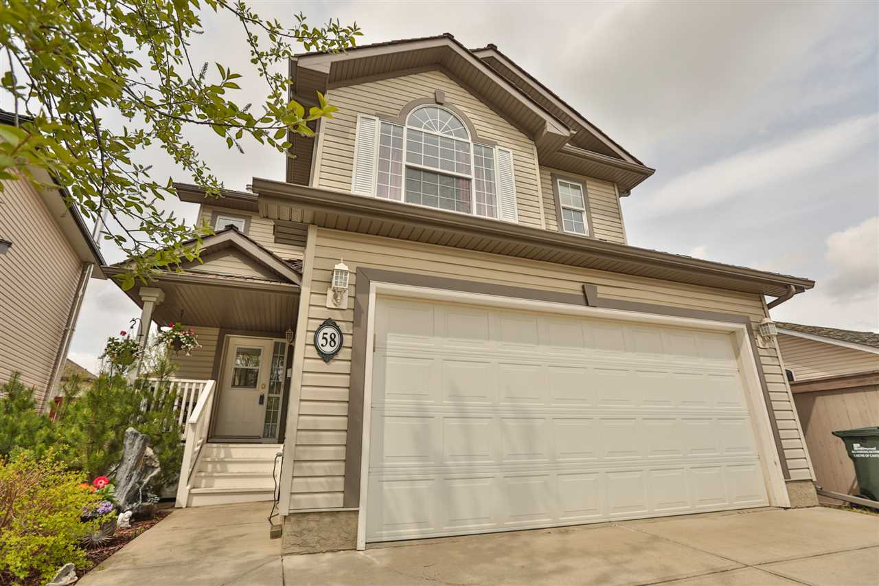 Main Photo: 58 NEWCASTLE Close: Sherwood Park House for sale : MLS(r) # E4060956