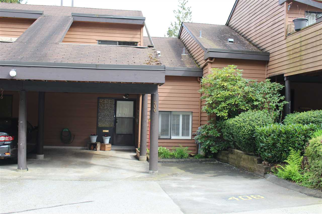 "Main Photo: 406 CARDIFF Way in Port Moody: College Park PM Townhouse for sale in ""EASTHILL"" : MLS® # R2161899"