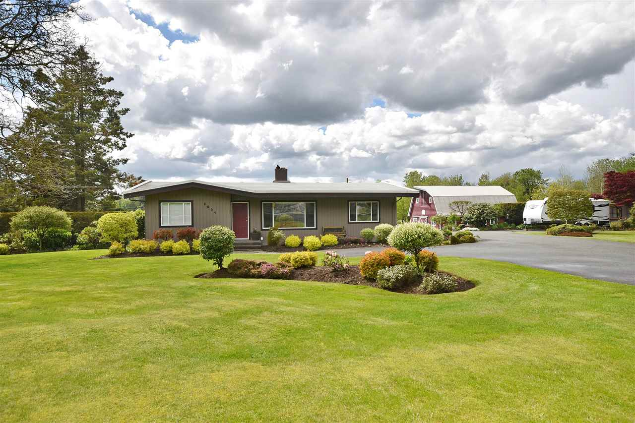 Main Photo: 6035 BRADNER Road in Abbotsford: Bradner House for sale : MLS® # R2166501