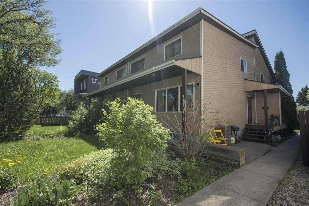 Main Photo: 11121 UNIVERSITY Avenue in Edmonton: Zone 15 Townhouse for sale : MLS(r) # E4066950