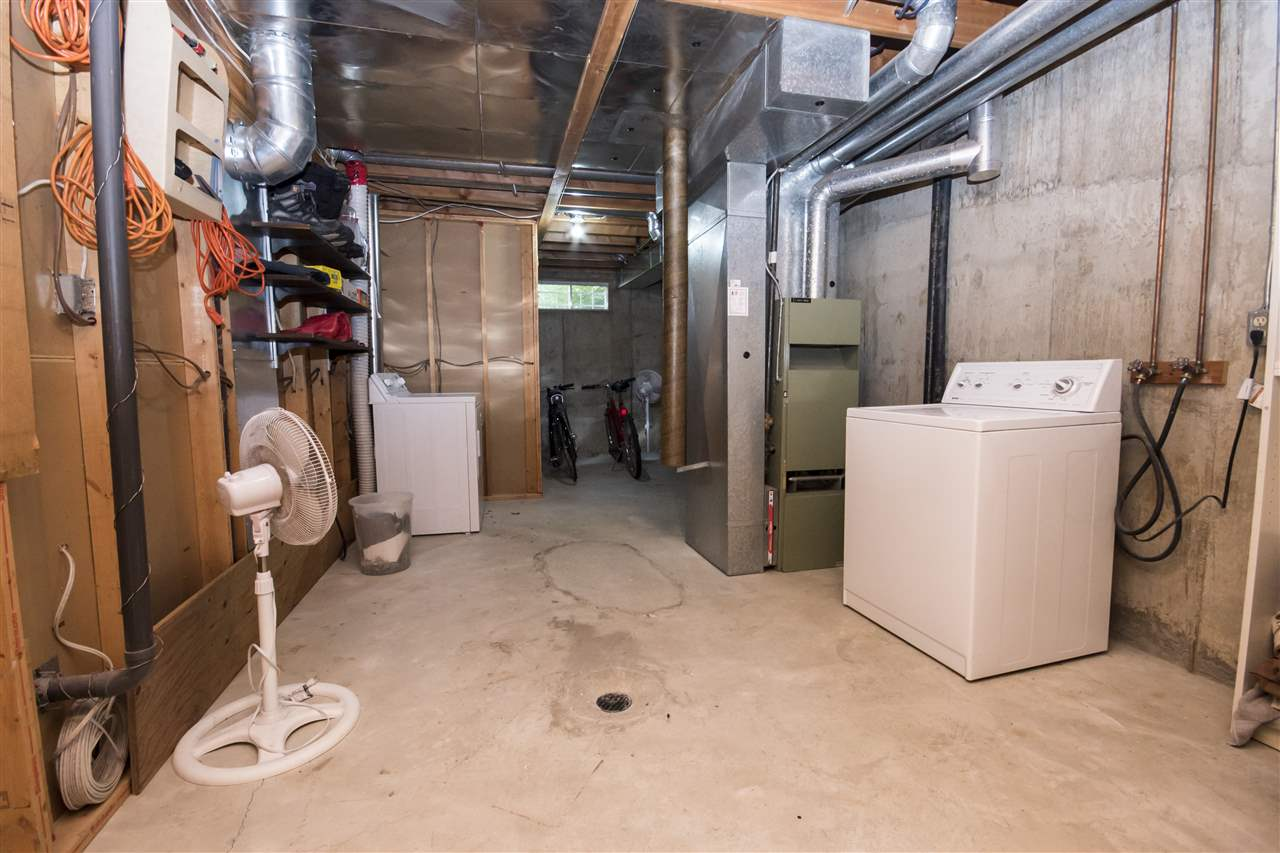 Spacious Storage/Laundry room with potential for additional development