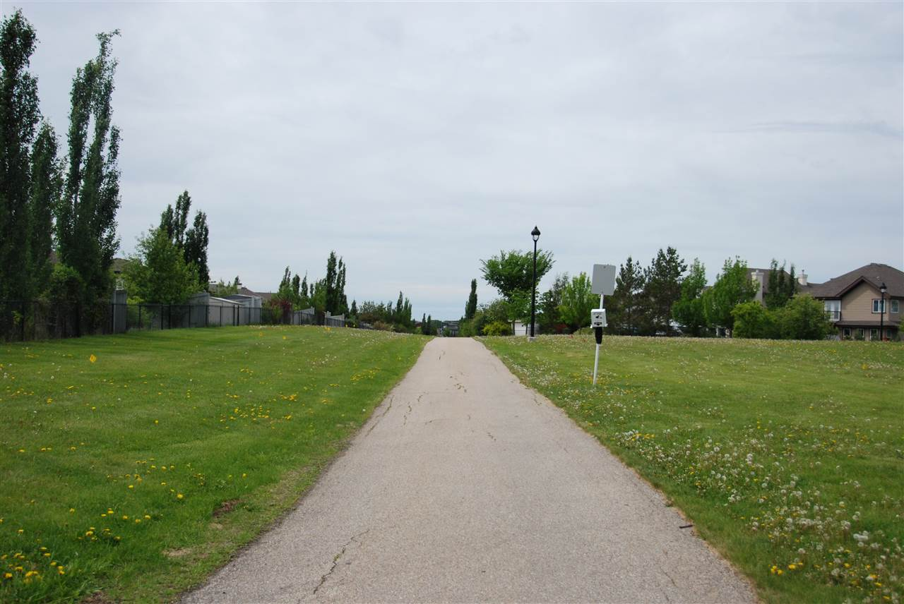 Trails link through out the neighborhoods, enjoy the beautiful ponds and in summer and skate on them in the winter.