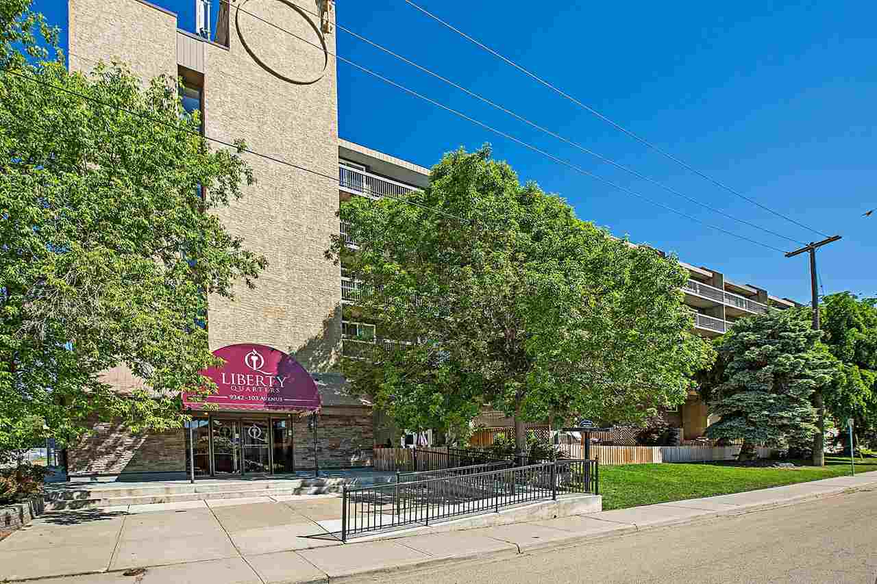 Main Photo: 111 9342 103 Avenue in Edmonton: Zone 13 Condo for sale : MLS(r) # E4068528