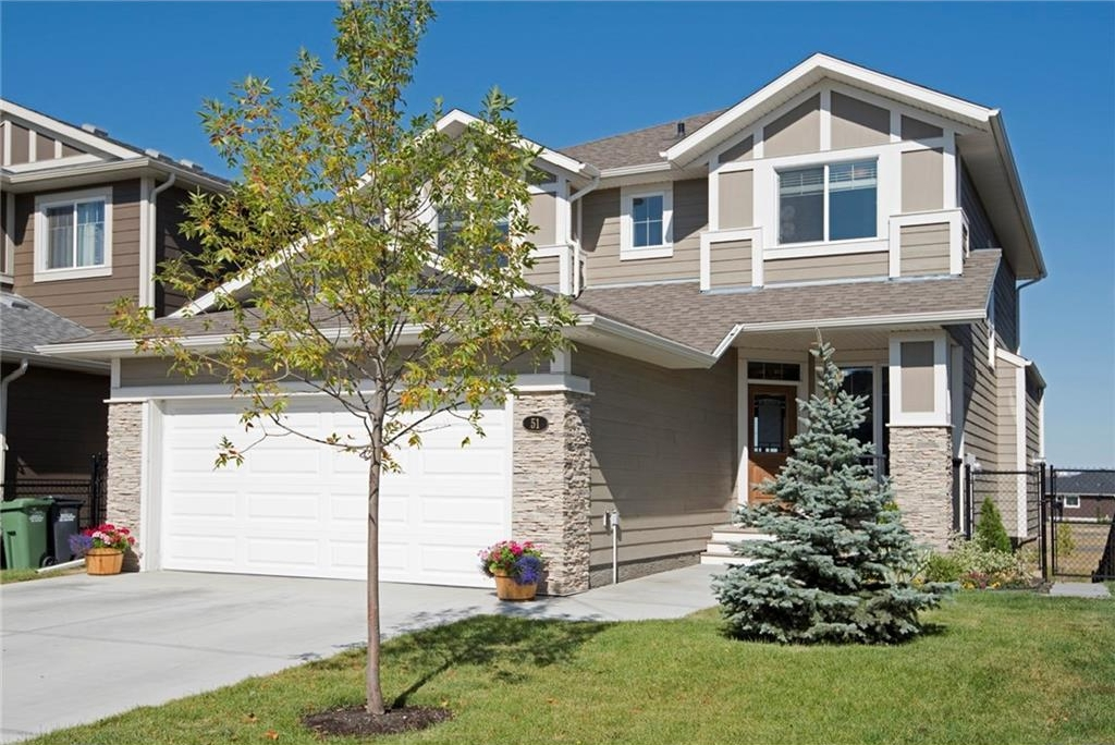 Main Photo: 51 CIMARRON SPRINGS Circle: Okotoks House for sale : MLS® # C4138336