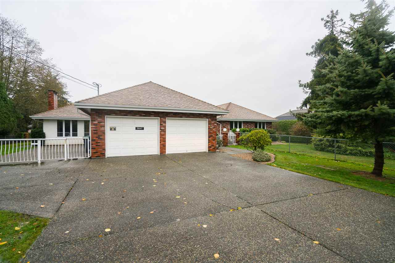 Photo 1: Photos: 2647 168TH Street in Surrey: Grandview Surrey House for sale (South Surrey White Rock)  : MLS® # R2219367