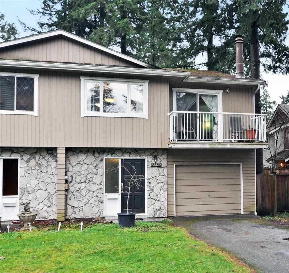 Main Photo: 2680 TUOHEY Avenue in Port Coquitlam: Woodland Acres PQ House 1/2 Duplex for sale : MLS® # R2231078