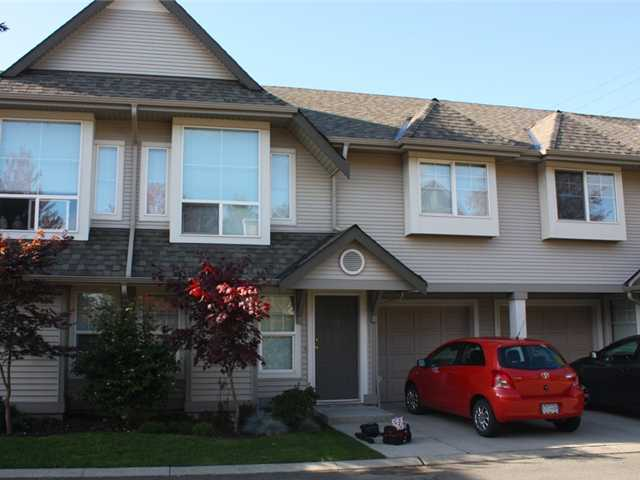 "Main Photo: 39 23085 118TH Avenue in Maple Ridge: East Central Townhouse for sale in ""SOMMERVILLE GARDENS"" : MLS® # V918734"