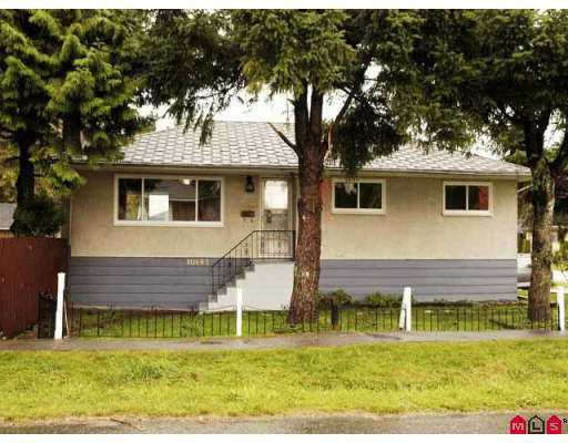 Main Photo: 10683 130st in Surrey: House for sale