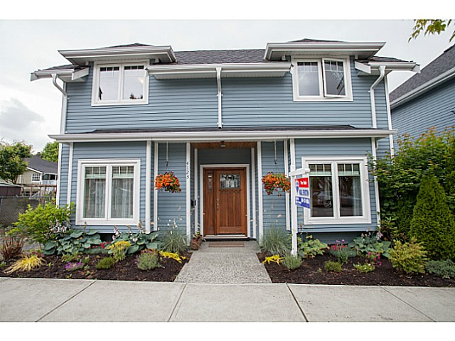Main Photo: 4123 INVERNESS Street in Vancouver: Knight Townhouse for sale (Vancouver East)  : MLS®# V1069467