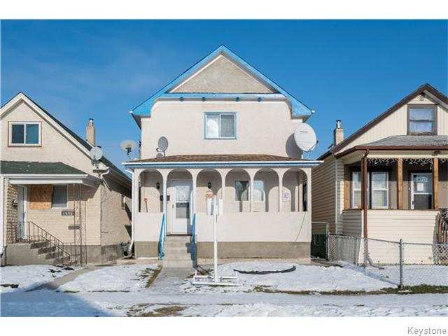 Main Photo: 1473 Ross Avenue West in WINNIPEG: Brooklands / Weston Residential for sale (West Winnipeg)  : MLS(r) # 1522454