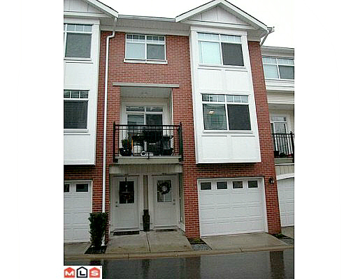 "Main Photo: 40 19551 66 Avenue in Surrey: Clayton Townhouse for sale in ""Manhatten Skye"" (Cloverdale)  : MLS®# R2078169"