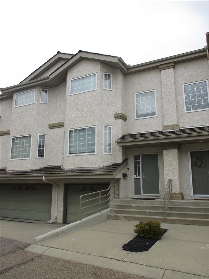 Main Photo: 41 1295 CARTER CREST Road in Edmonton: Zone 14 Townhouse for sale : MLS(r) # E4038865