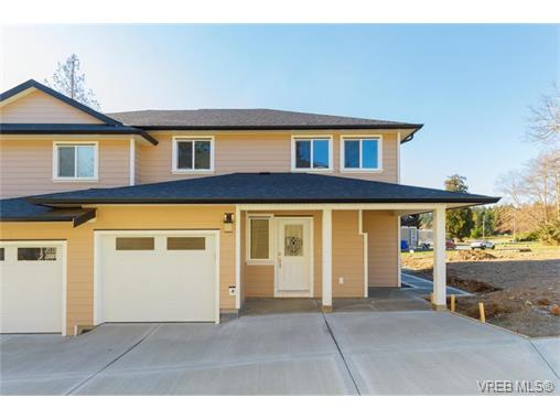 Main Photo: 6985 A Larkspur Road in SOOKE: Sk Broomhill Strata Duplex Unit for sale (Sooke)  : MLS(r) # 373680